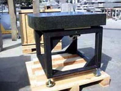 STOCK SURFACE PLATE STANDS & Metal Weldments u0026 Support Stands - Pyramid Granite u0026 Metals